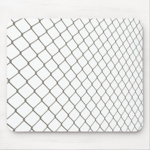 Chain Linked Fence Mouse Pad