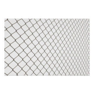 Chain Linked Fence Print