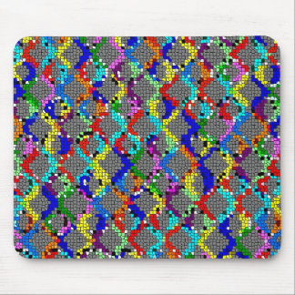 Chain Linked Stained Glass Mousepad