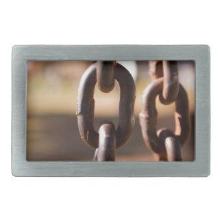 Chain links belt buckle