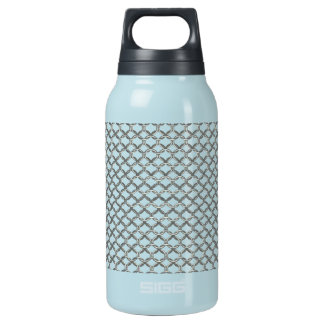 chain mail insulated water bottle