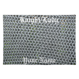 Chain mail placemats