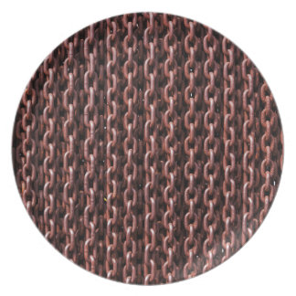 Chain Melamine Plate