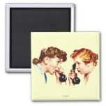 Chain of Gossip 2 Inch Square Magnet