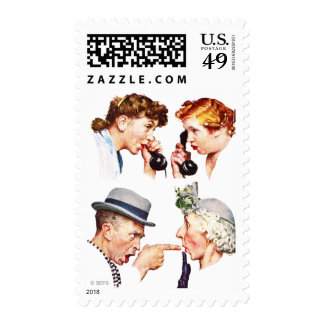 Chain of Gossip Postage Stamp