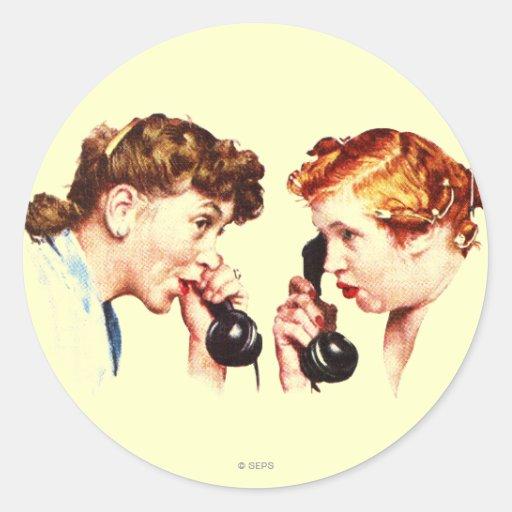 Chain of Gossip Sticker