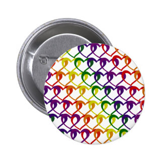 chain of hearts pinback buttons