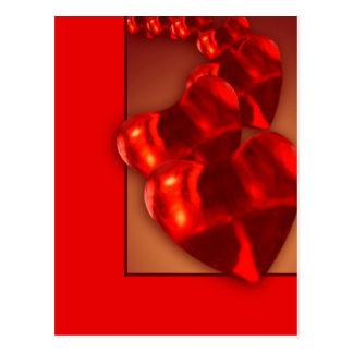 Chain of Hearts Postcard
