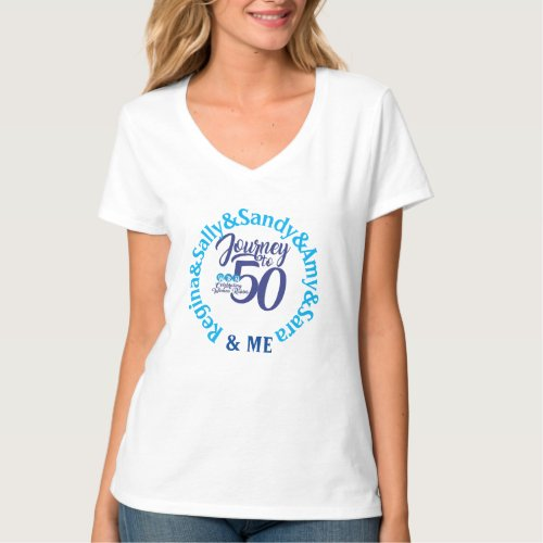 Chain of Tradition of Women Rabbis 50 years  T_Shi T_Shirt