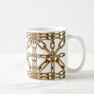 Chain Pattern Coffee Mug