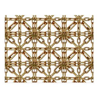 Chain Pattern Postcard
