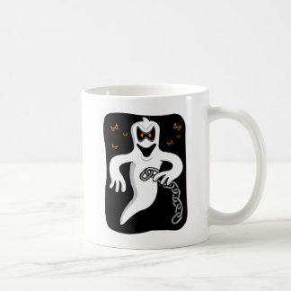 Chain Rattling Ghost Mug