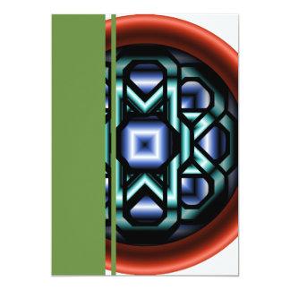 Chain Round Card