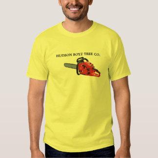 Chain-Saw, HUDSON BOYZ TREE CO. Tee Shirt