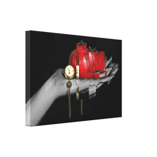 Chained Apple Canvas Print