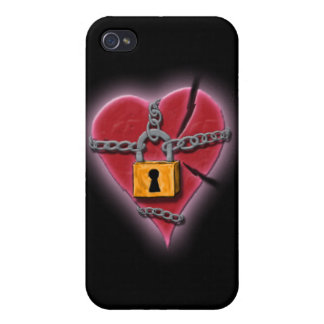 Chained & Broken Heart iPhone Cover