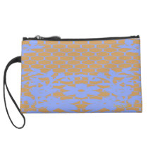 Chained-Flower's_Nordic(c)ii -Sueded Mini Clutch