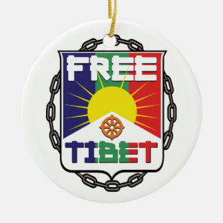 Chained Free Tibet Christmas Tree Ornament
