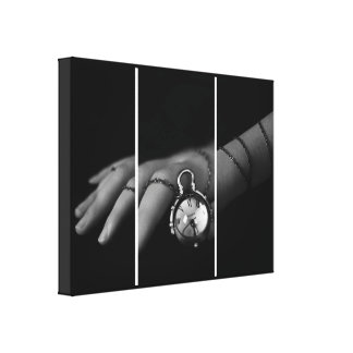 Chained Hand Canvas Print