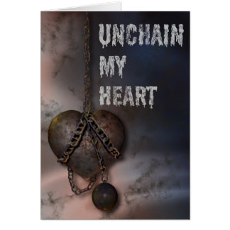 Chained Heart Card