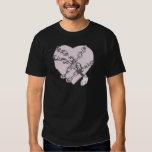 Chained Heart Tee Shirt