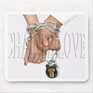 CHAINED LOVE MOUSE PAD