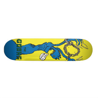 Chained Skateboard Deck