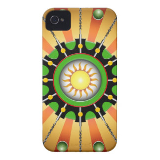Chained Sun iPhone 4 Case