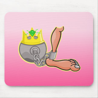 Chained to a Princess Mouse Pad
