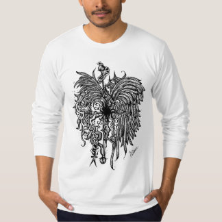 Chained Wings Light Grey T-Shirt