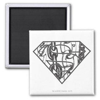Chainlink Superman Logo Magnets