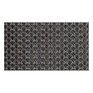 Chainmail Double-Sided Standard Business Cards (Pack Of 100)