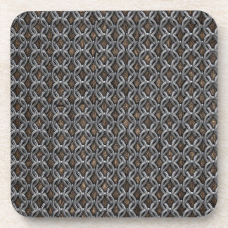 Chainmail Beverage Coaster