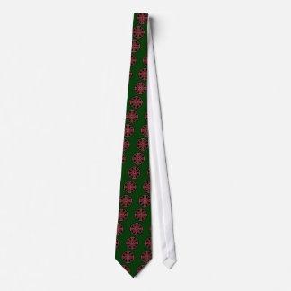 Chainmail Medallion Neck Tie