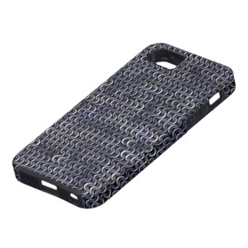 Chainmaille - acero iPhone 5 carcasas