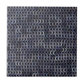 Chainmaille - Steel Ceramic Tile