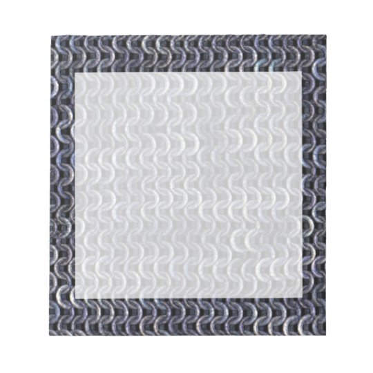 Chainmaille - Steel Notepad