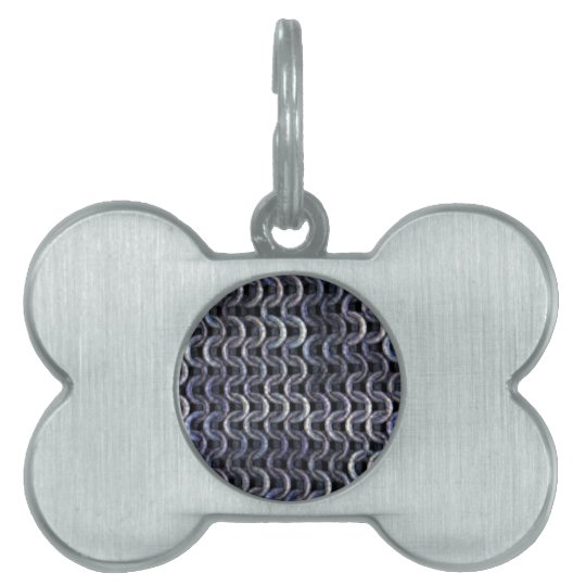 Chainmaille - Steel Pet ID Tag