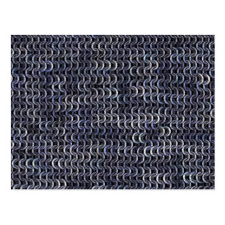 Chainmaille - Steel Postcard