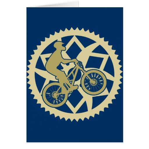 Chainring biker card