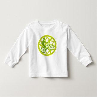 Chainring biker toddler t-shirt