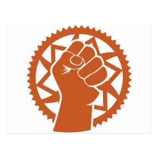 Chainring power revolution postcard