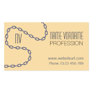 chains business card