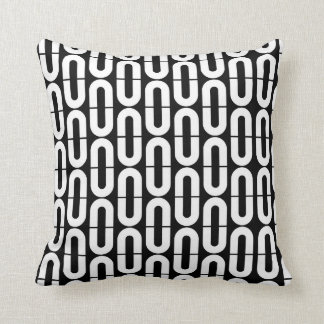 Chains design throw pillow