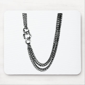 chains mouse pad