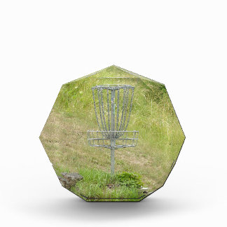 Chains of A Disc Golf Basket Award