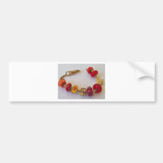 Chains of Love by MelinaWorld Jewellery Car Bumper Sticker