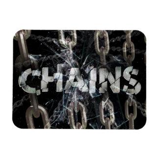 Chains Rectangular Photo Magnet