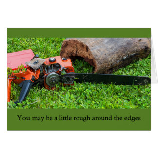 Chainsaw Anniversary Card