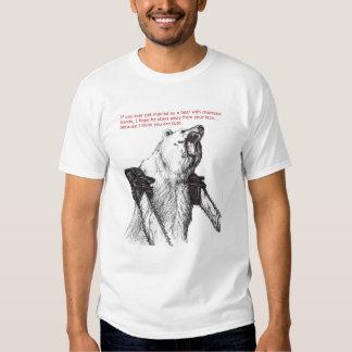 Chainsaw Bear T-shirt